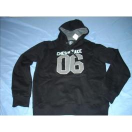 H&M - Cherokee 06 - czarna bluza z kapturem