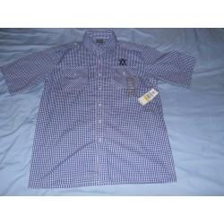 M - Avirex koszula w kratke niebieska