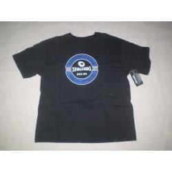 Y XL -Spalding - czarny t-shirt