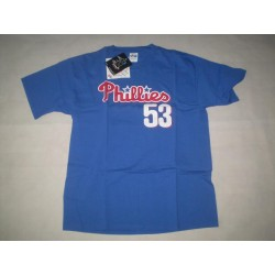 Y XL - Majestic - 53 ABREU - MLB - Philadelphia Phillies