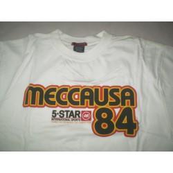 Y L - Mecca USA 84 - biały t-shirt