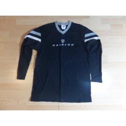 @ L - NFL Raiders czarna koszulka długi rękaw