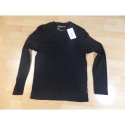 @ M - Reserved czarna koszulka z długim rękawem