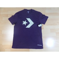 @ L - Converse t-shirt fioletowy