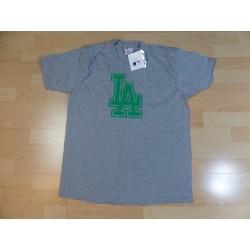 @ L - Majestic MLB t-shirt szary LA